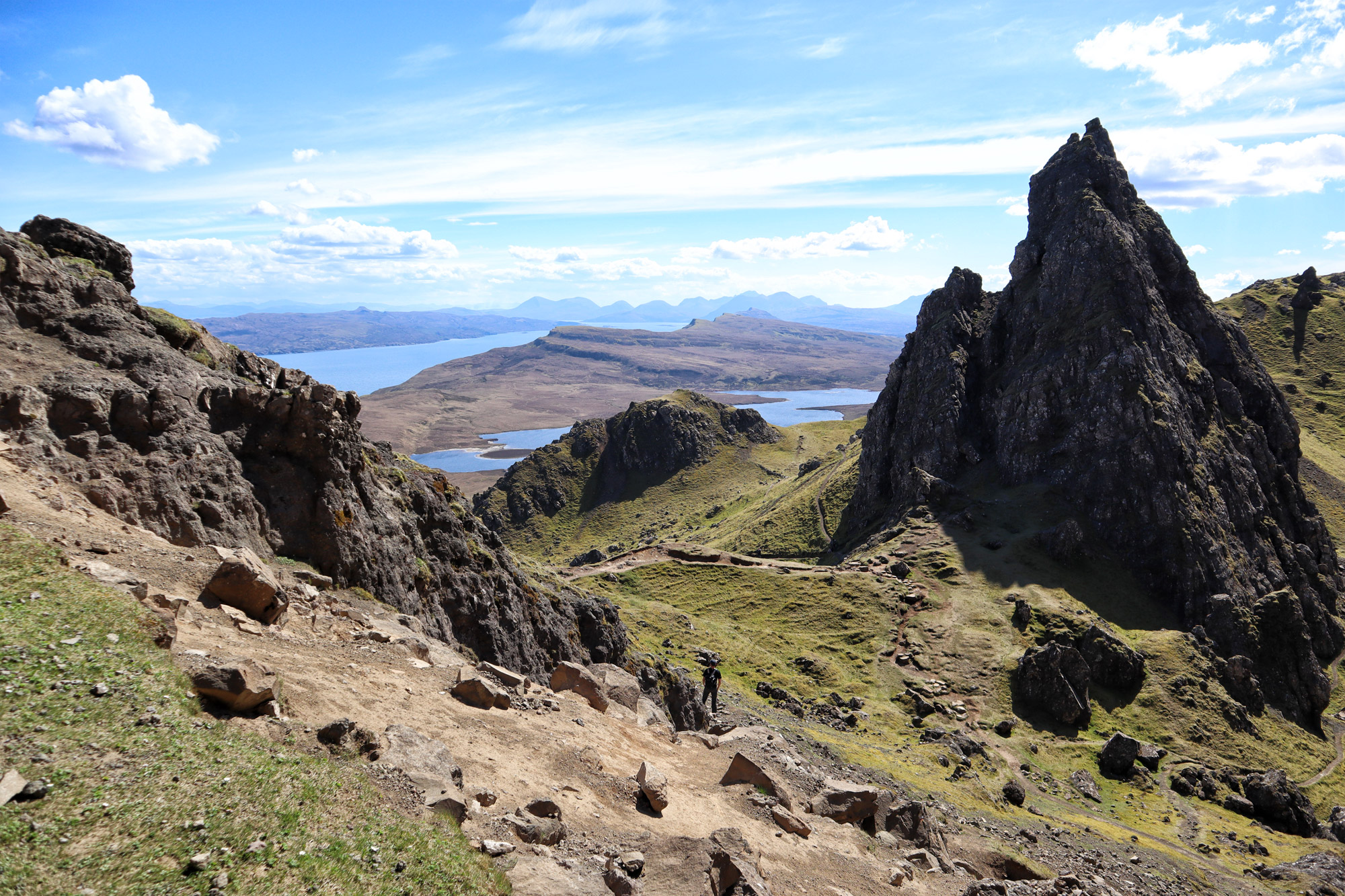 De hoogtepunten van Isle of Skye - Old Man of Storr