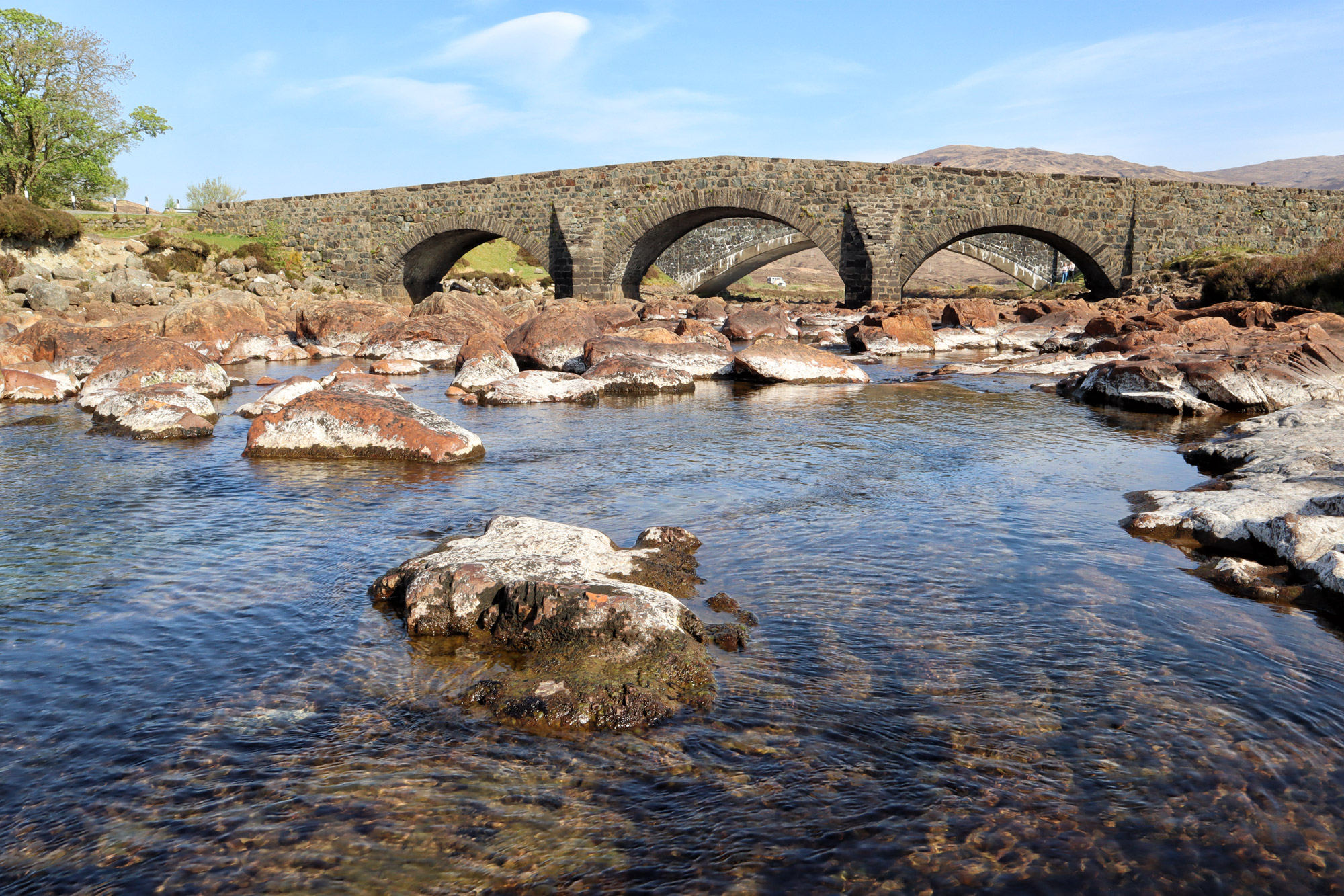 De hoogtepunten van Isle of Skye - Old Sligachan Bridge