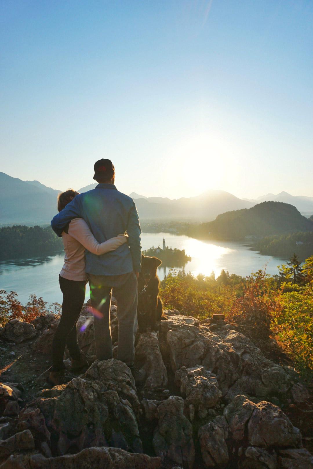 Mechteld - Sunrise in Bled