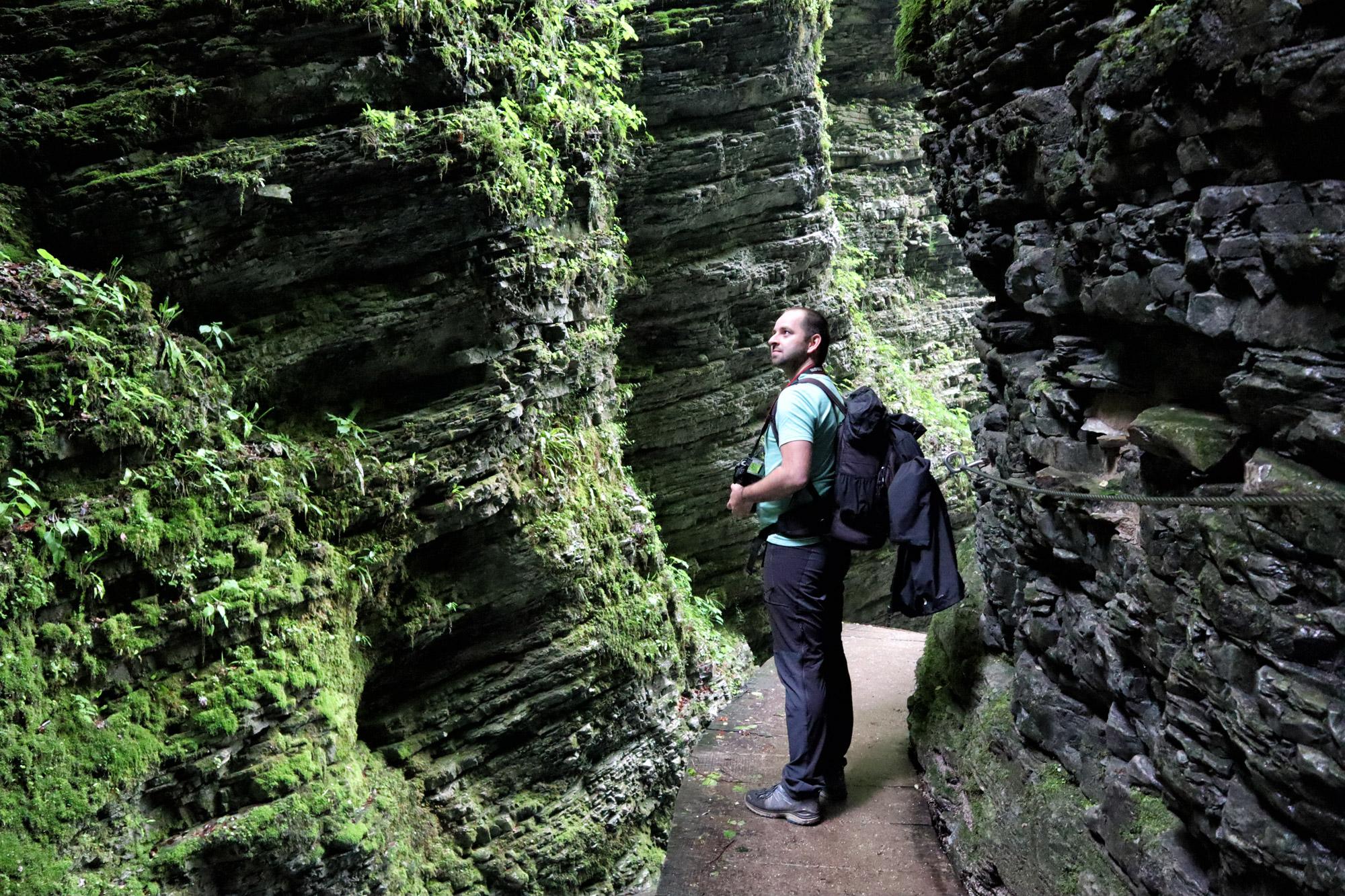 Soška pot wandeling in Slovenië - Slap Kozjak