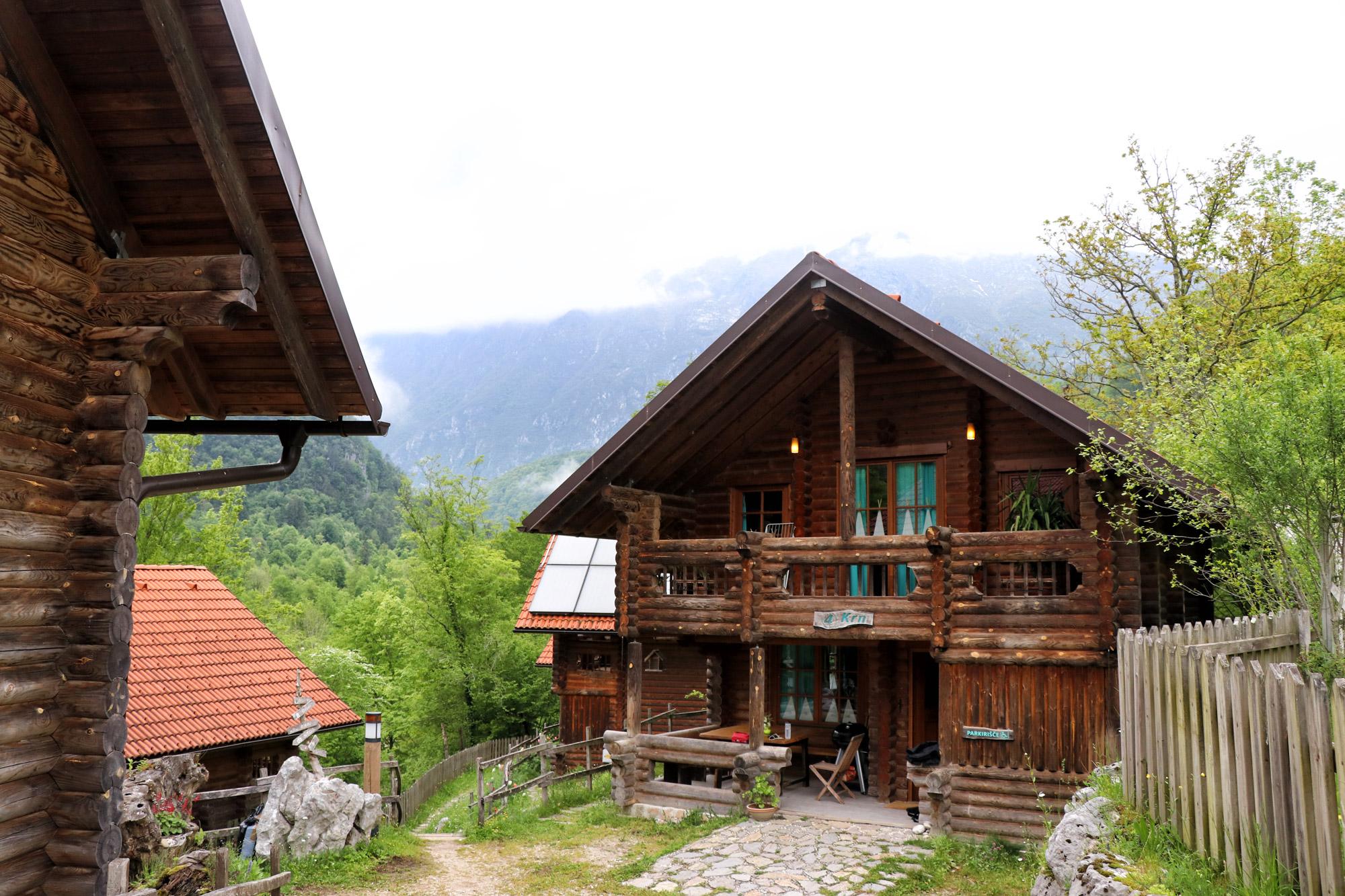 Soška pot wandeling in Slovenië - Kamp Koren
