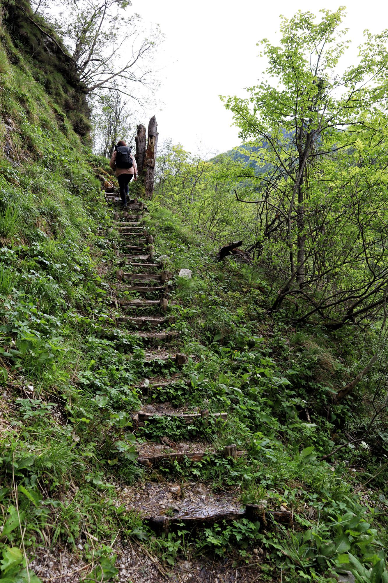 Soška pot wandeling in Slovenië