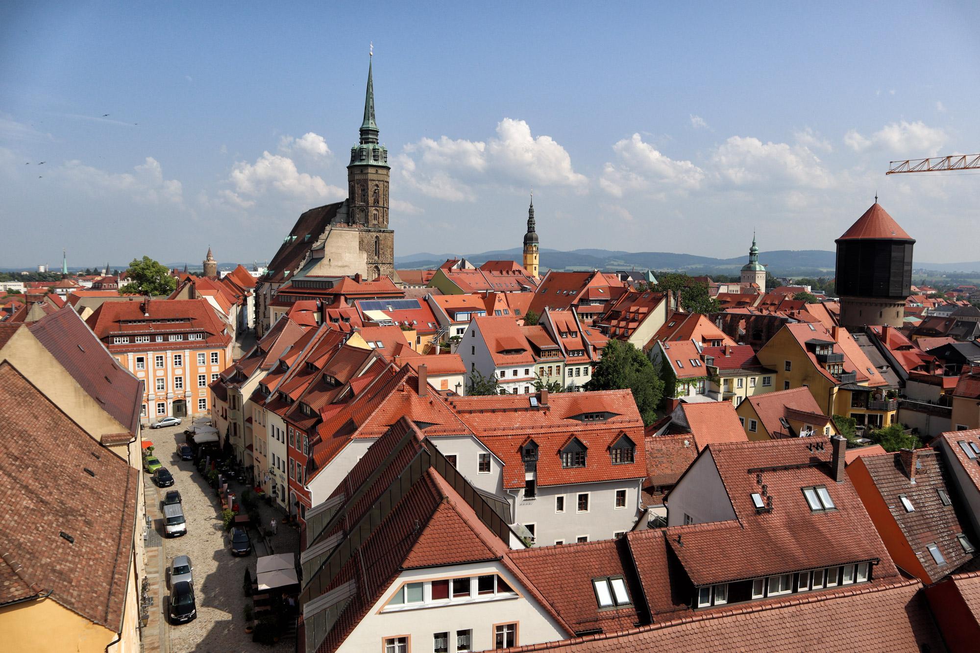Bautzen - Uitzicht Matthiasturm