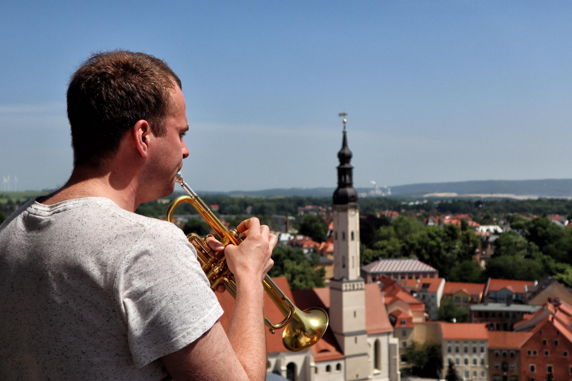 Zittau - Johanniskirche torenwachter