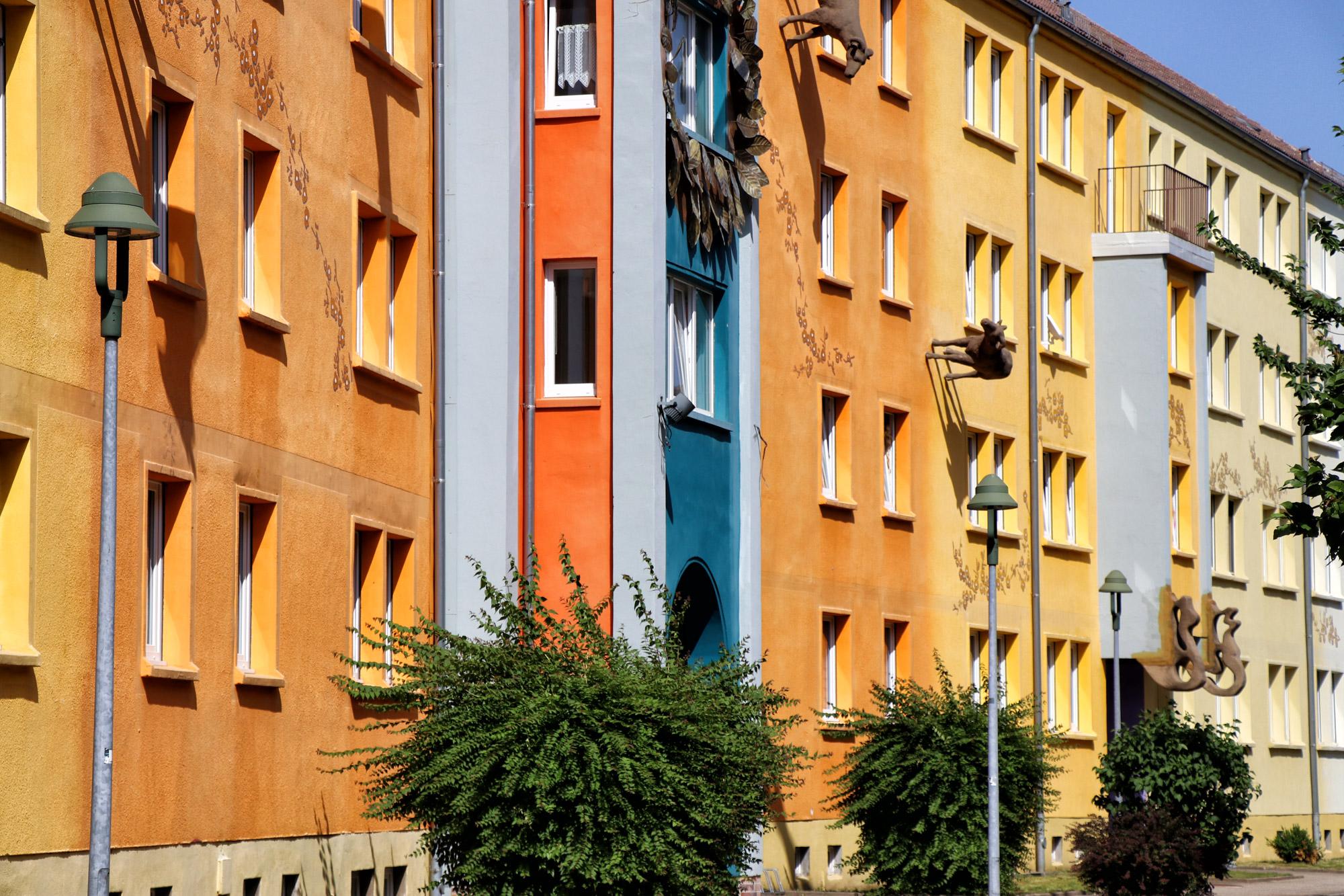 Zittau - Pop-Art Viertel