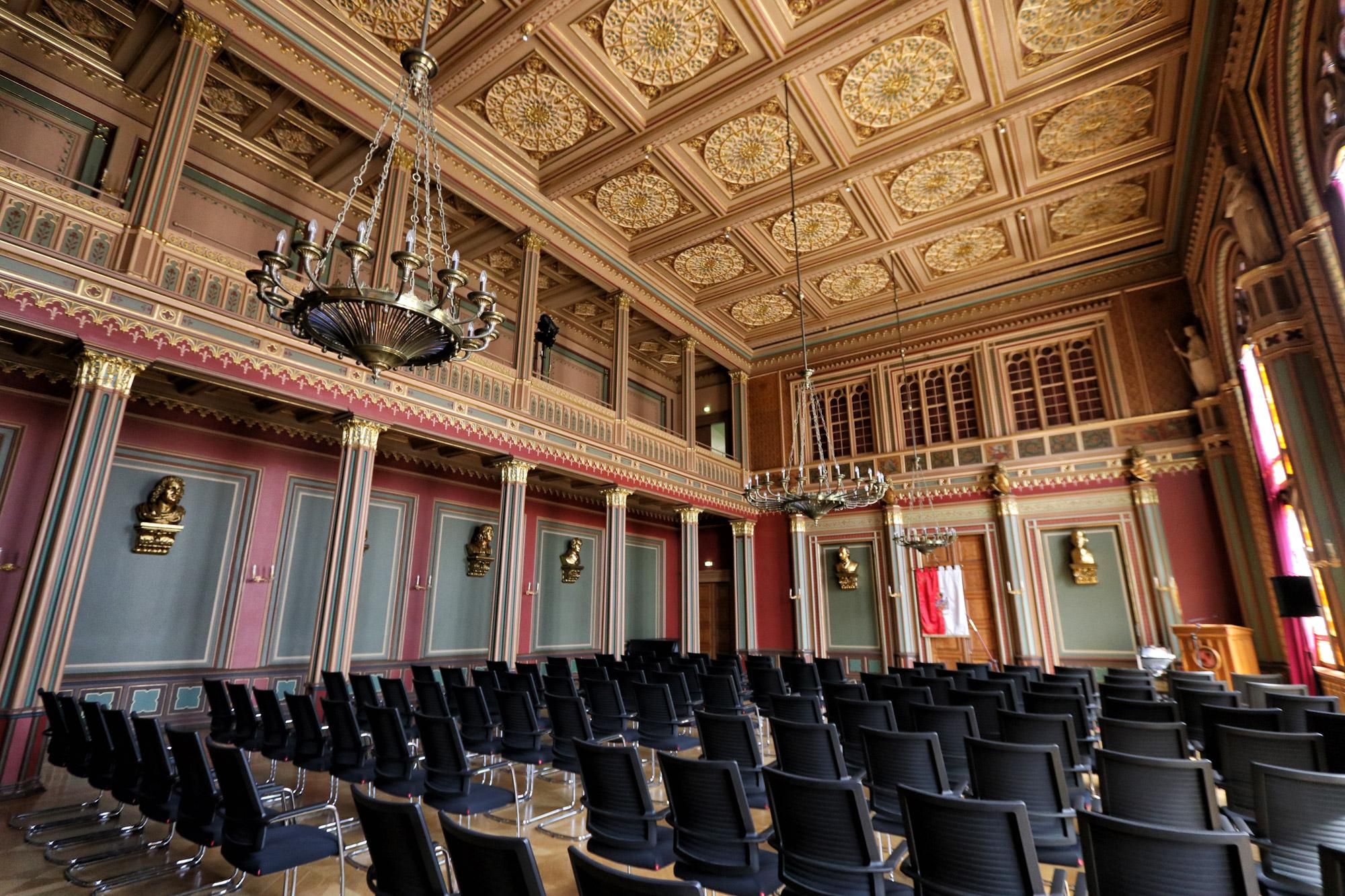Zittau - Rathaus Bürgersaal