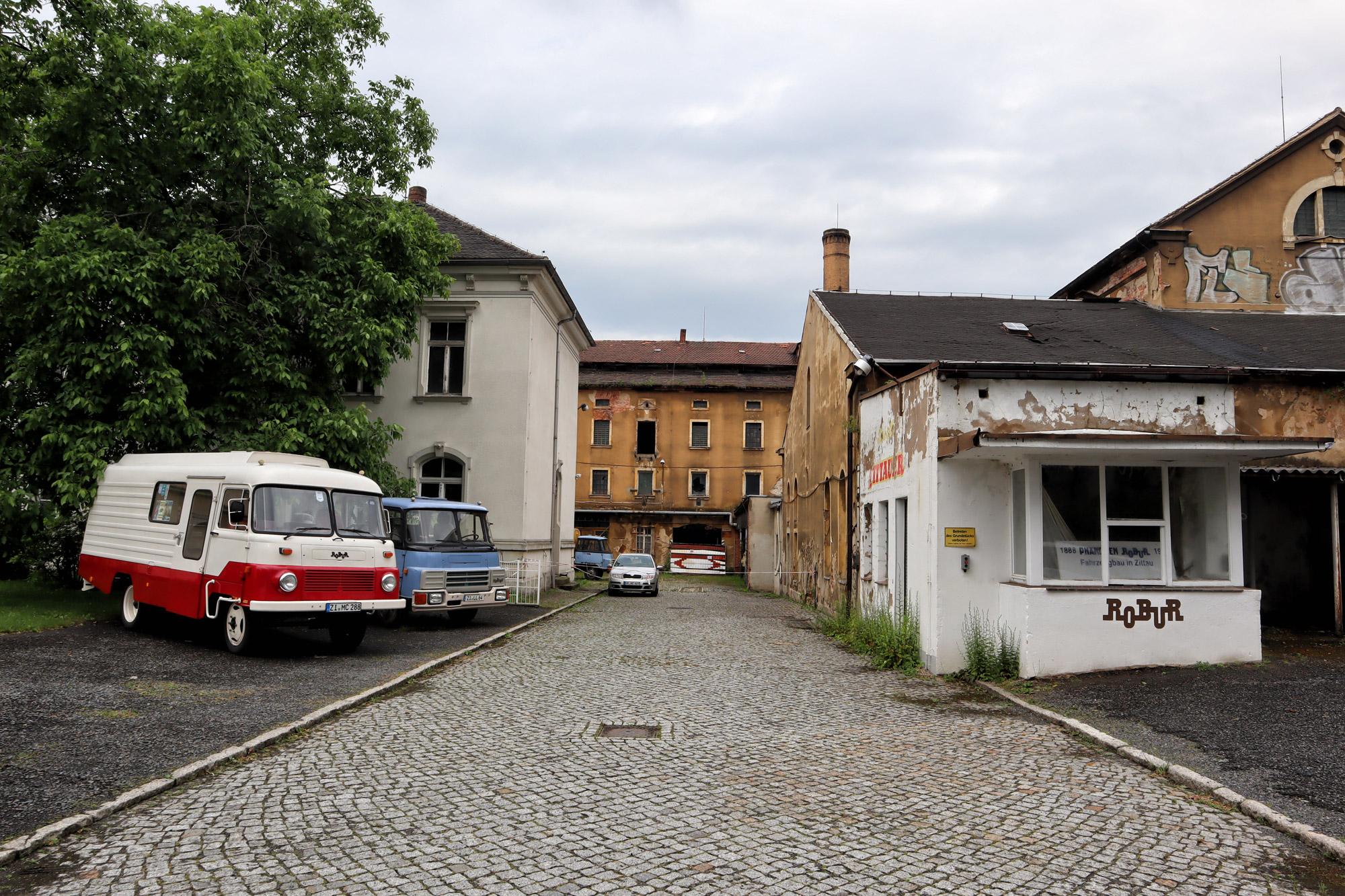 Zittau - Robur fabriek