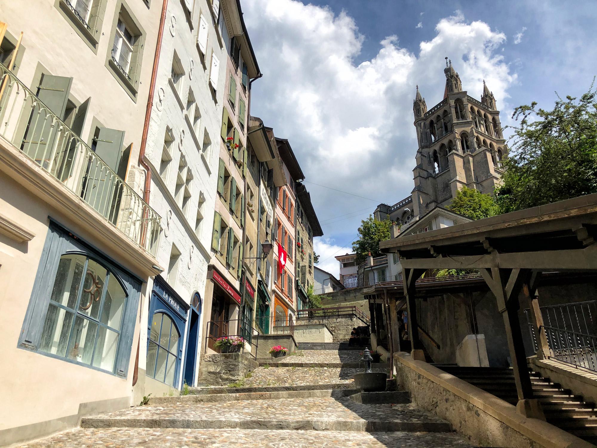 Zwitserland - Lausanne