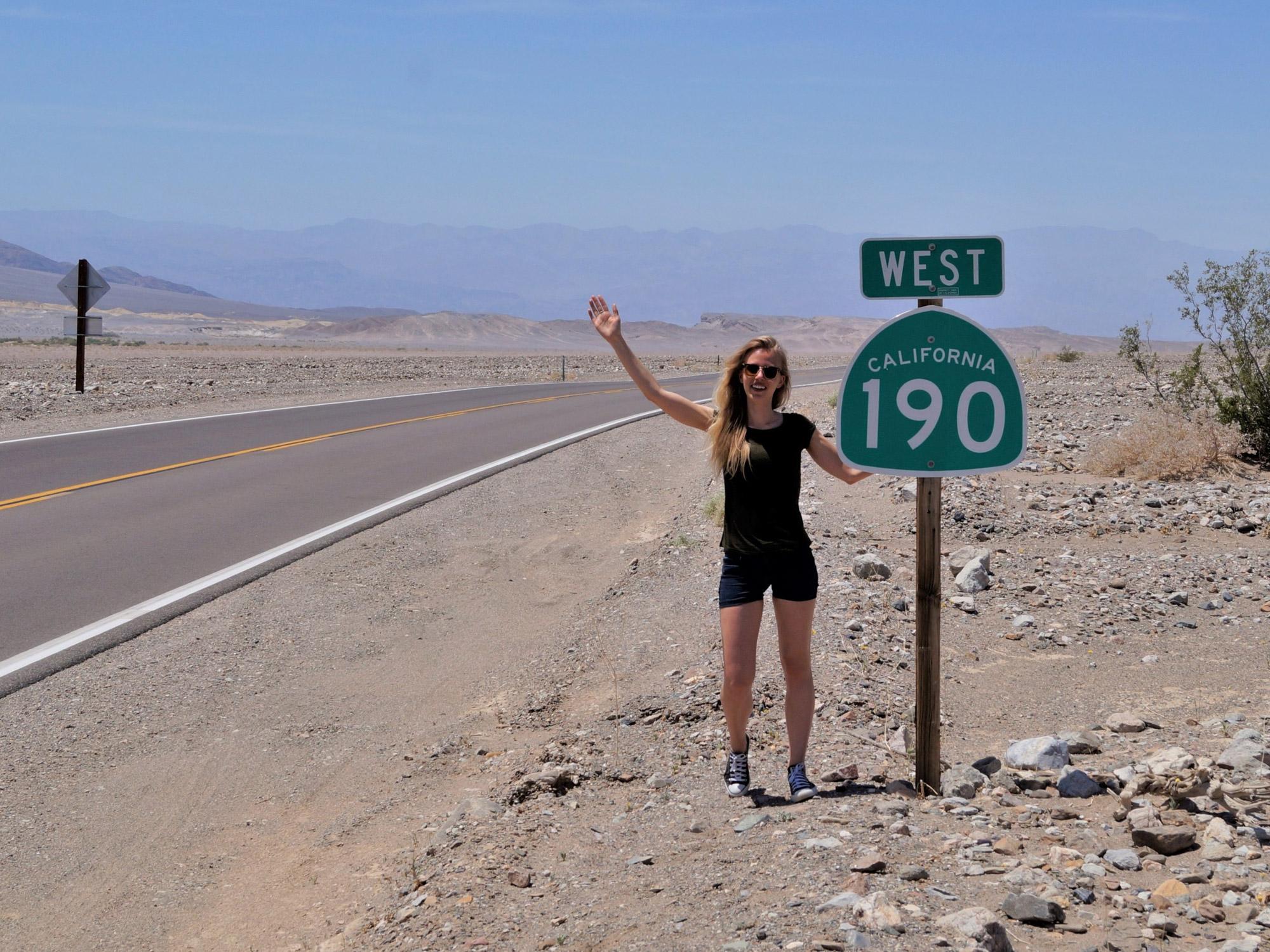 Brenda - Death Valley, USA