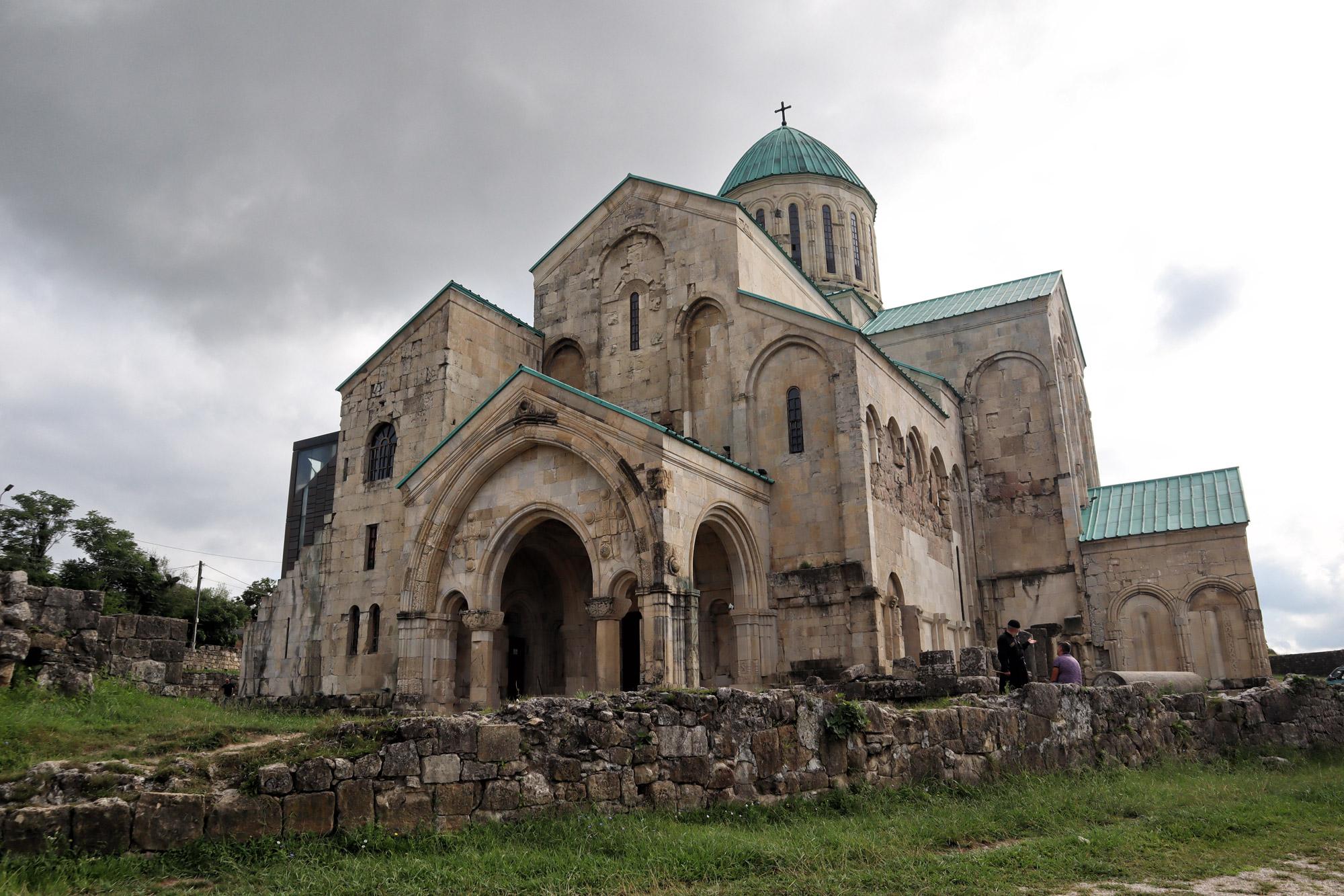 Georgië reisverslag: Bagrati Kathedraal