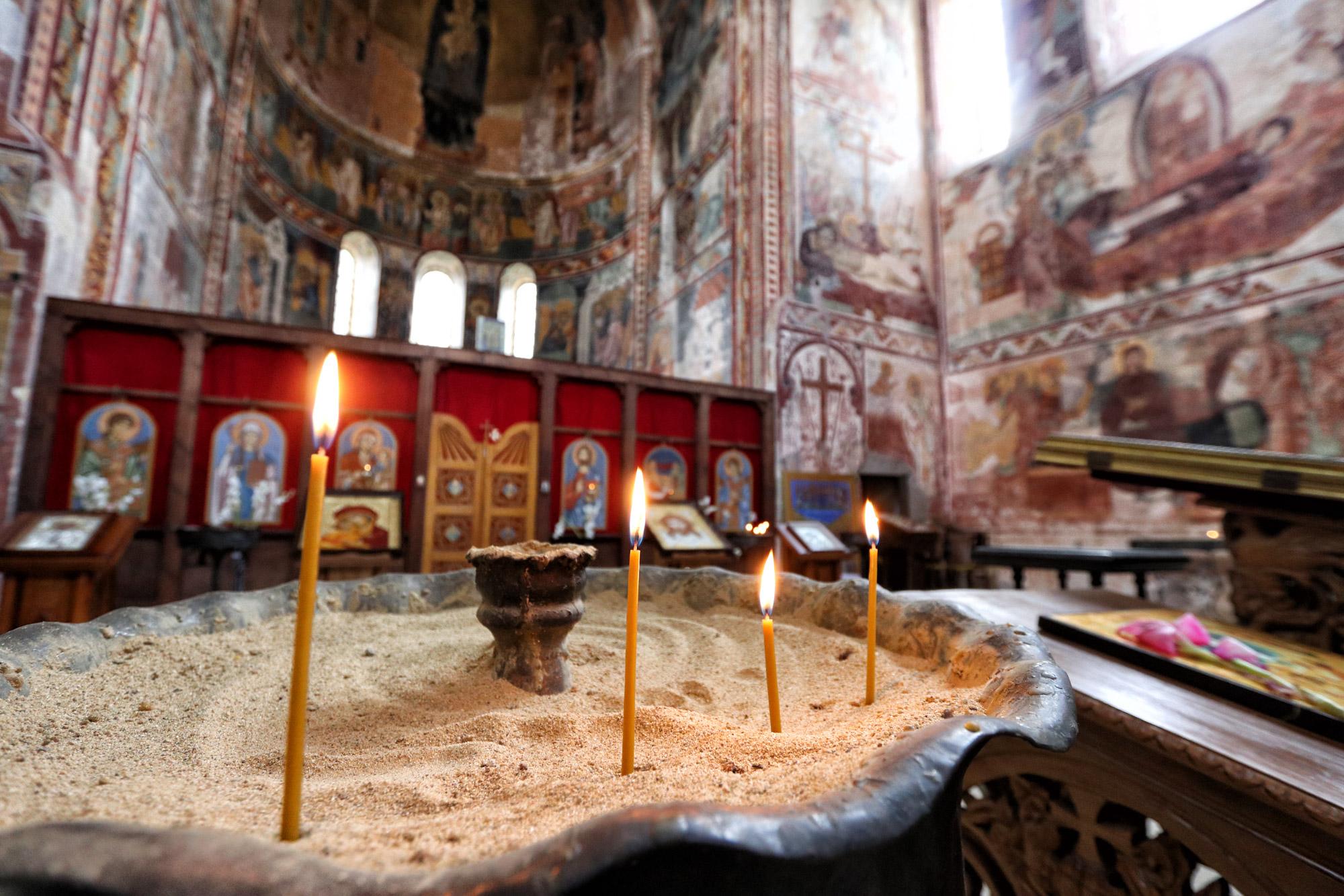 Georgië reisverslag: Gelati klooster