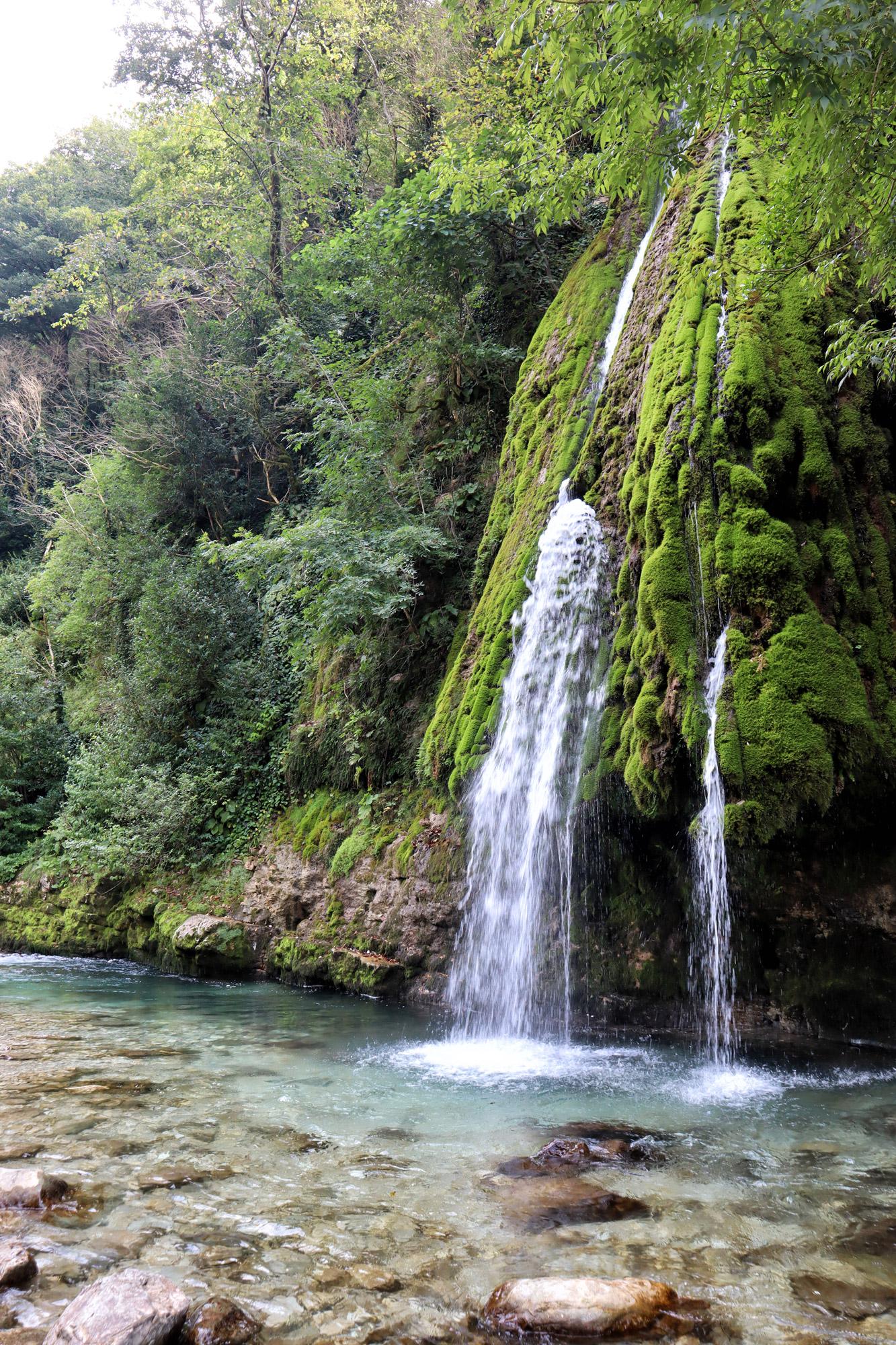 Georgië reisverslag: Zhuzhgi waterval