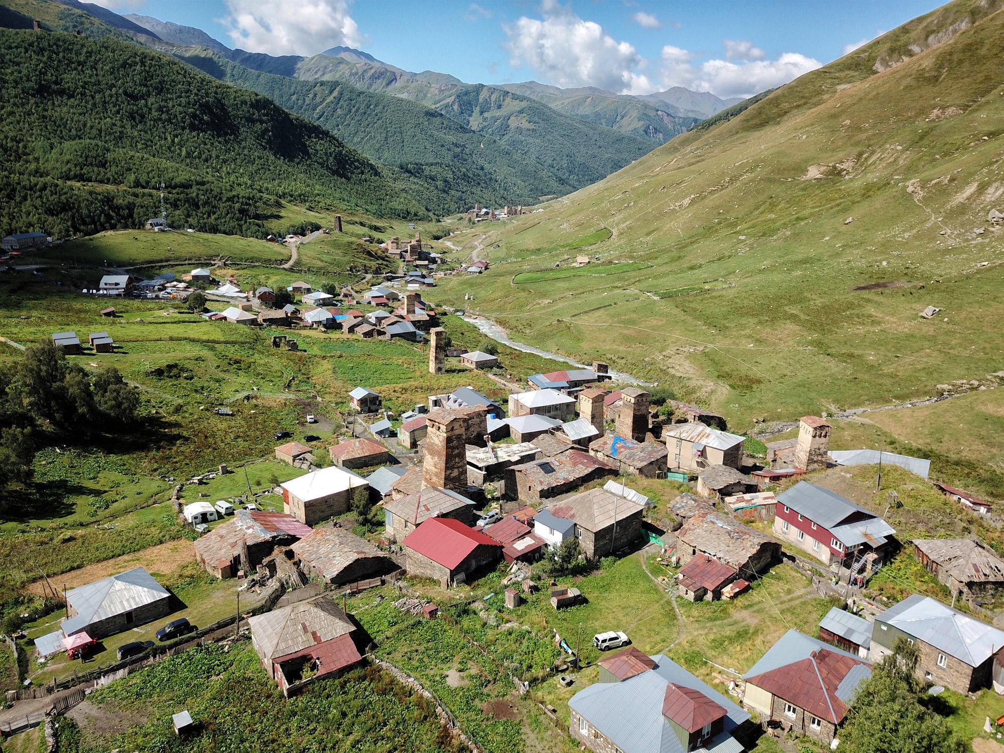 Georgië reisverslag - Ushguli