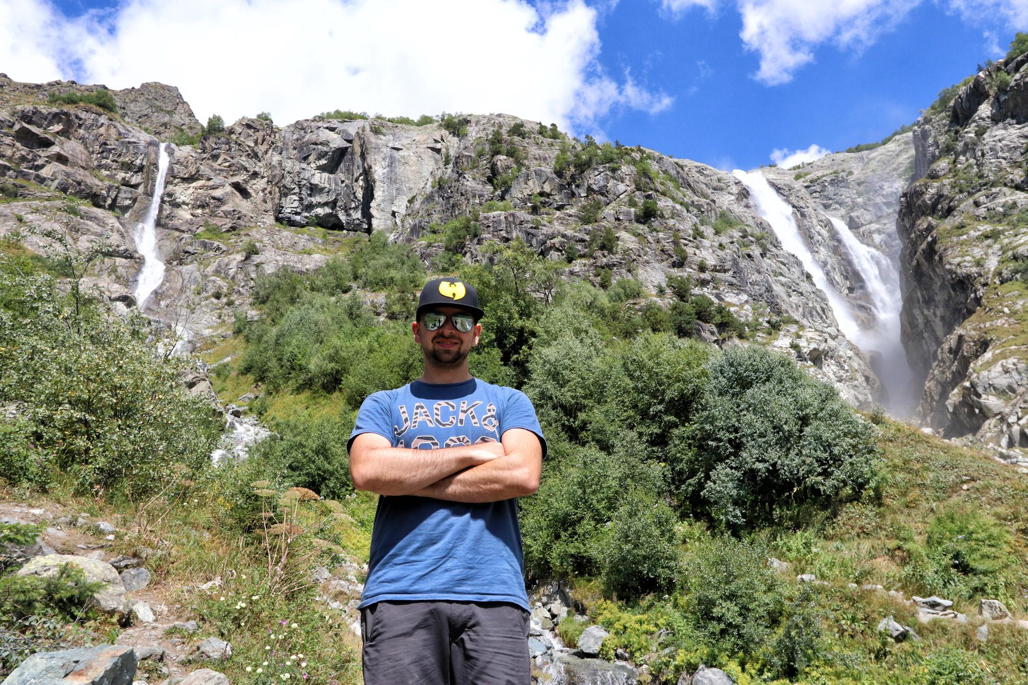 Georgië reisverslag - Wandelen naar de Shudgra waterval