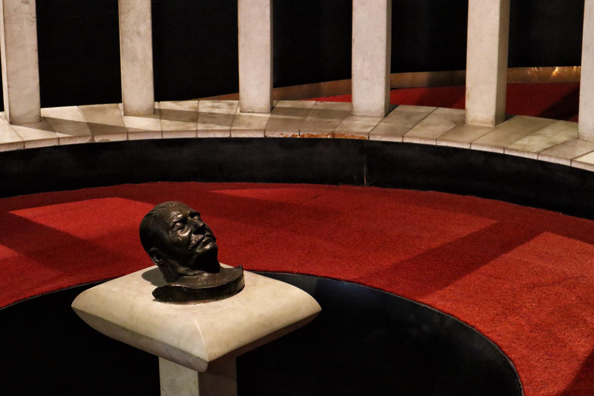 Georgië reisverslag - Stalin Museum in Gori