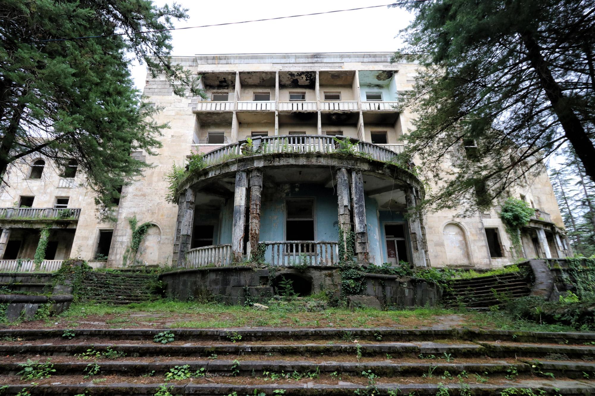 Georgië reisverslag - Tskaltubo