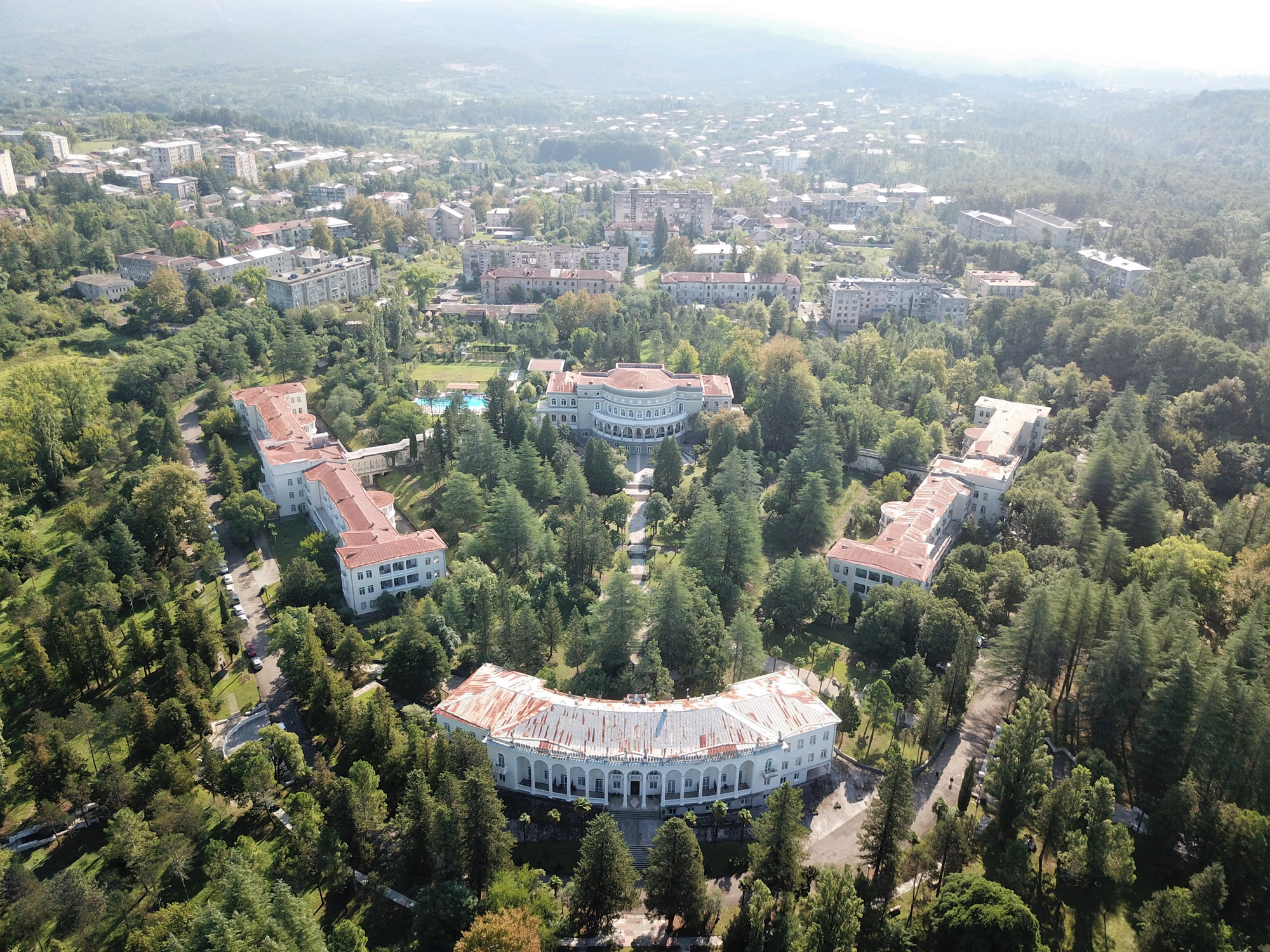 Georgië reisverslag - Tskaltubo Spa Resort