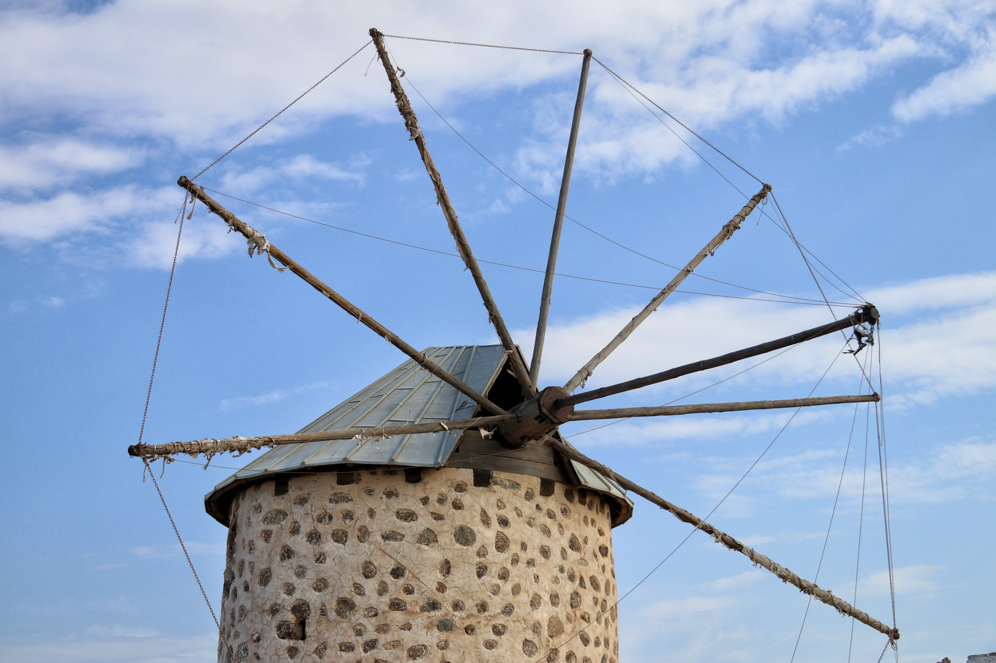 Turkije - De windmolens van Bodrum