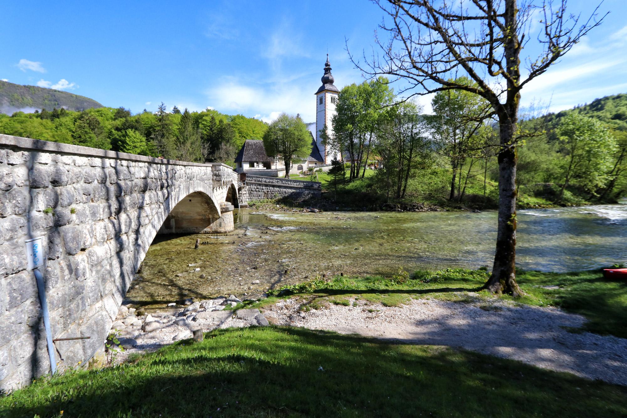Wandelen in Bohinj, Slovenië