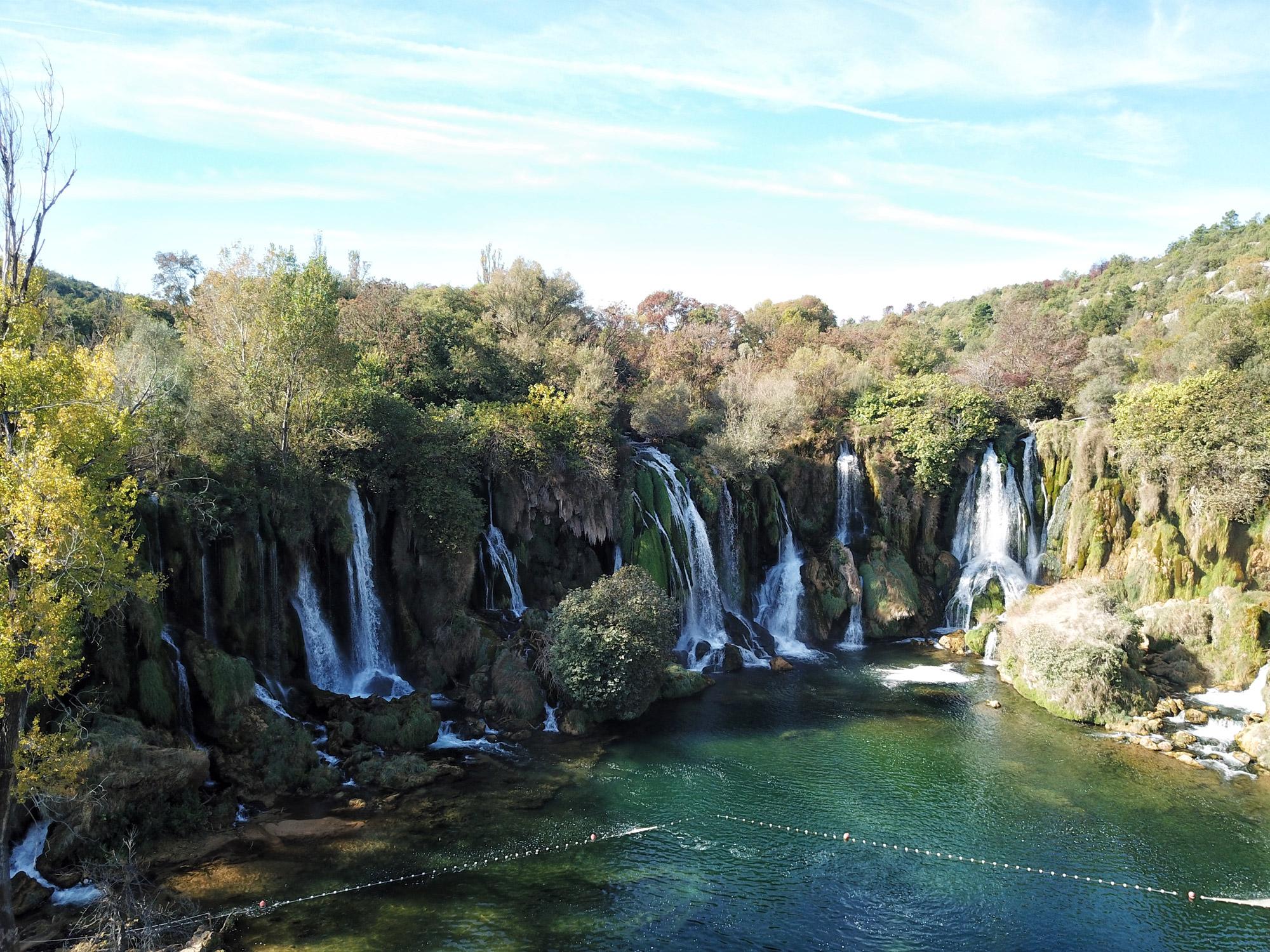 Bosnië & Herzegovina - Kravica watervallen
