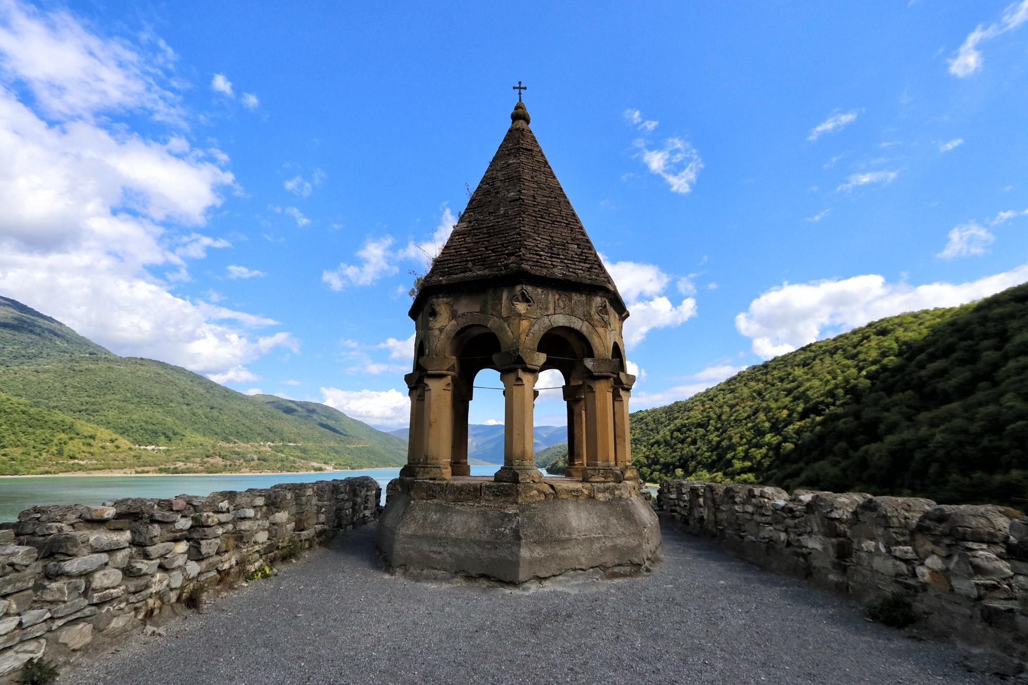 Georgië reisverslag - Ananuri Monastery