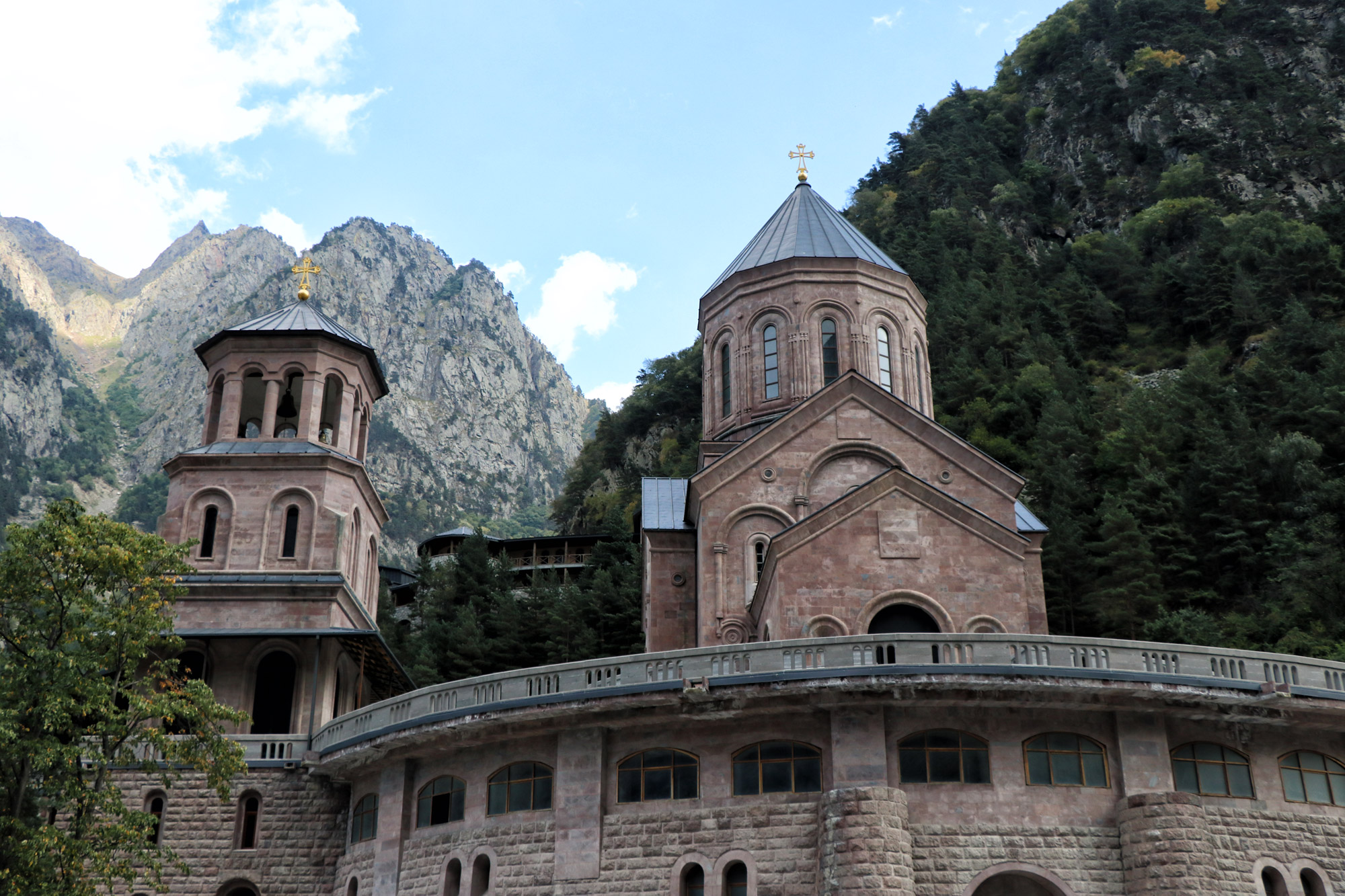 Georgië reisverslag - Dariali Monastery