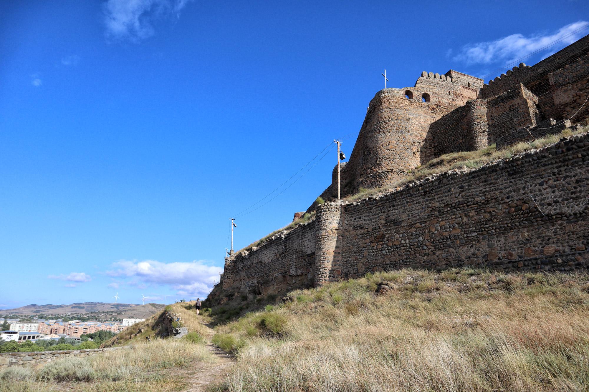 Georgië reisverslag - Gori Fort