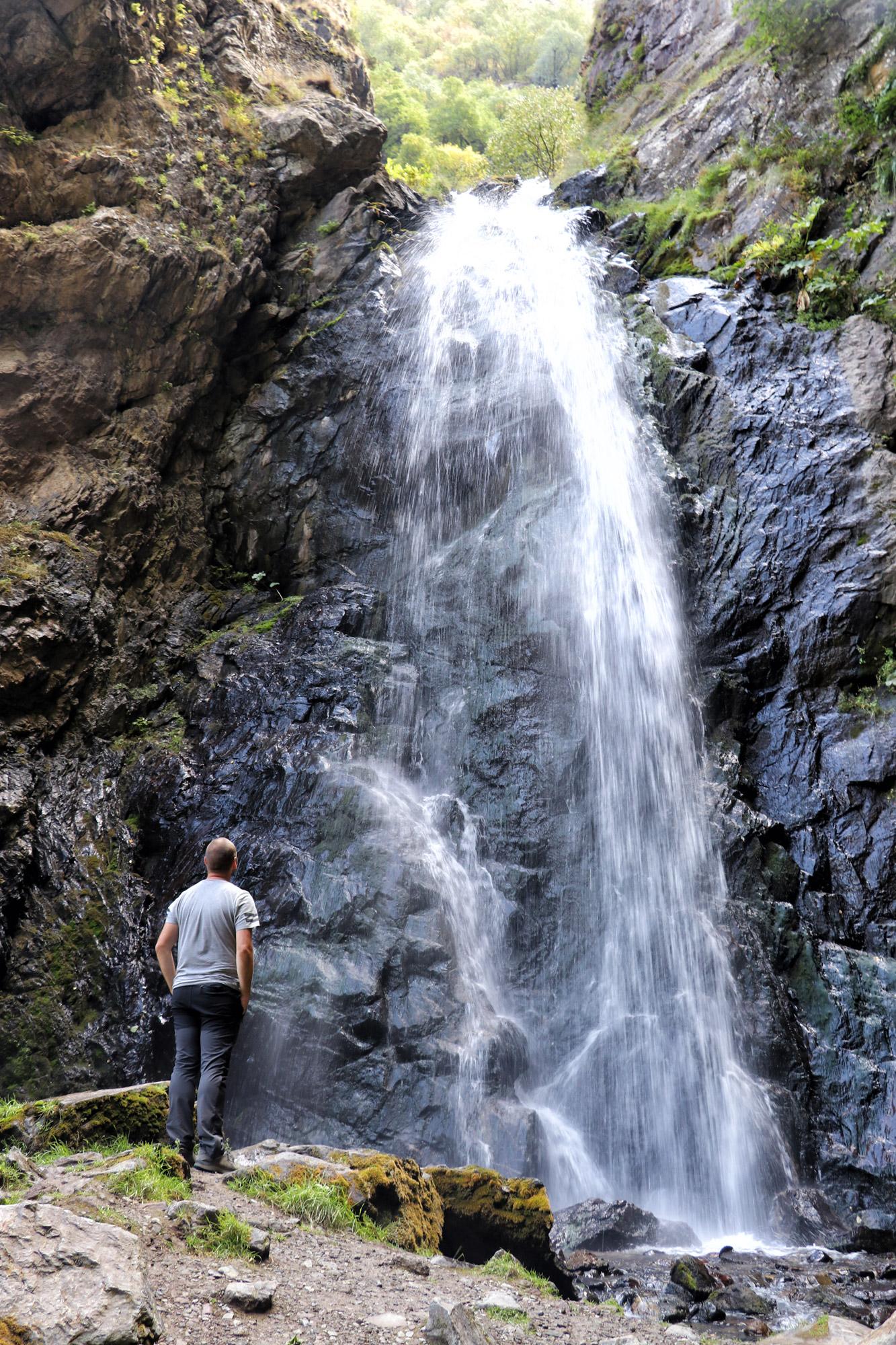 Georgië reisverslag - Gveleti Small Waterfall
