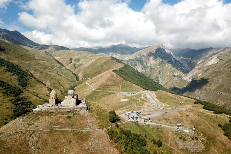Georgië reisverslag - Trinity Church Trail