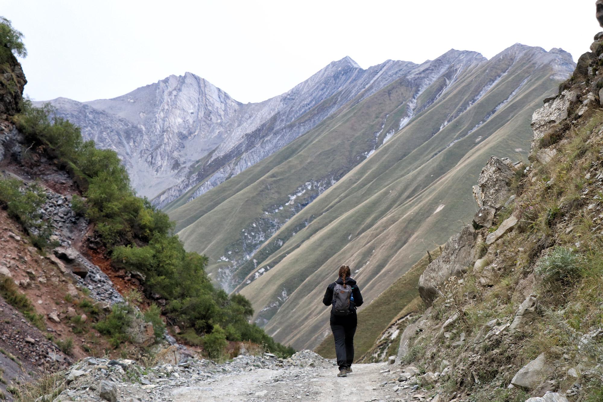 Georgië reisverslag - Truso Vallei