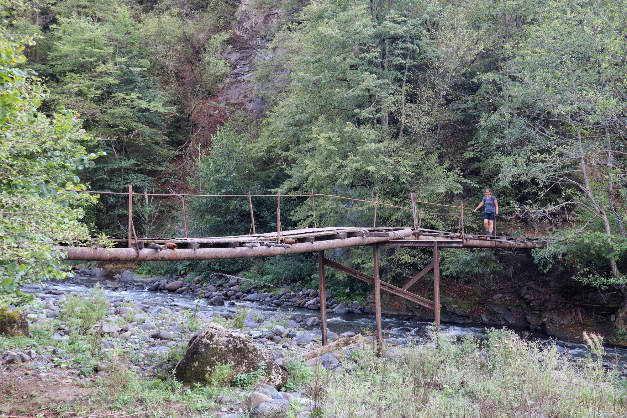 Georgie Reisverslag - Advanture Trail in Borjomi National Park