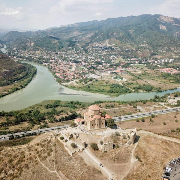 Georgie Reisverslag - Dzjvariklooster in Mtscheta