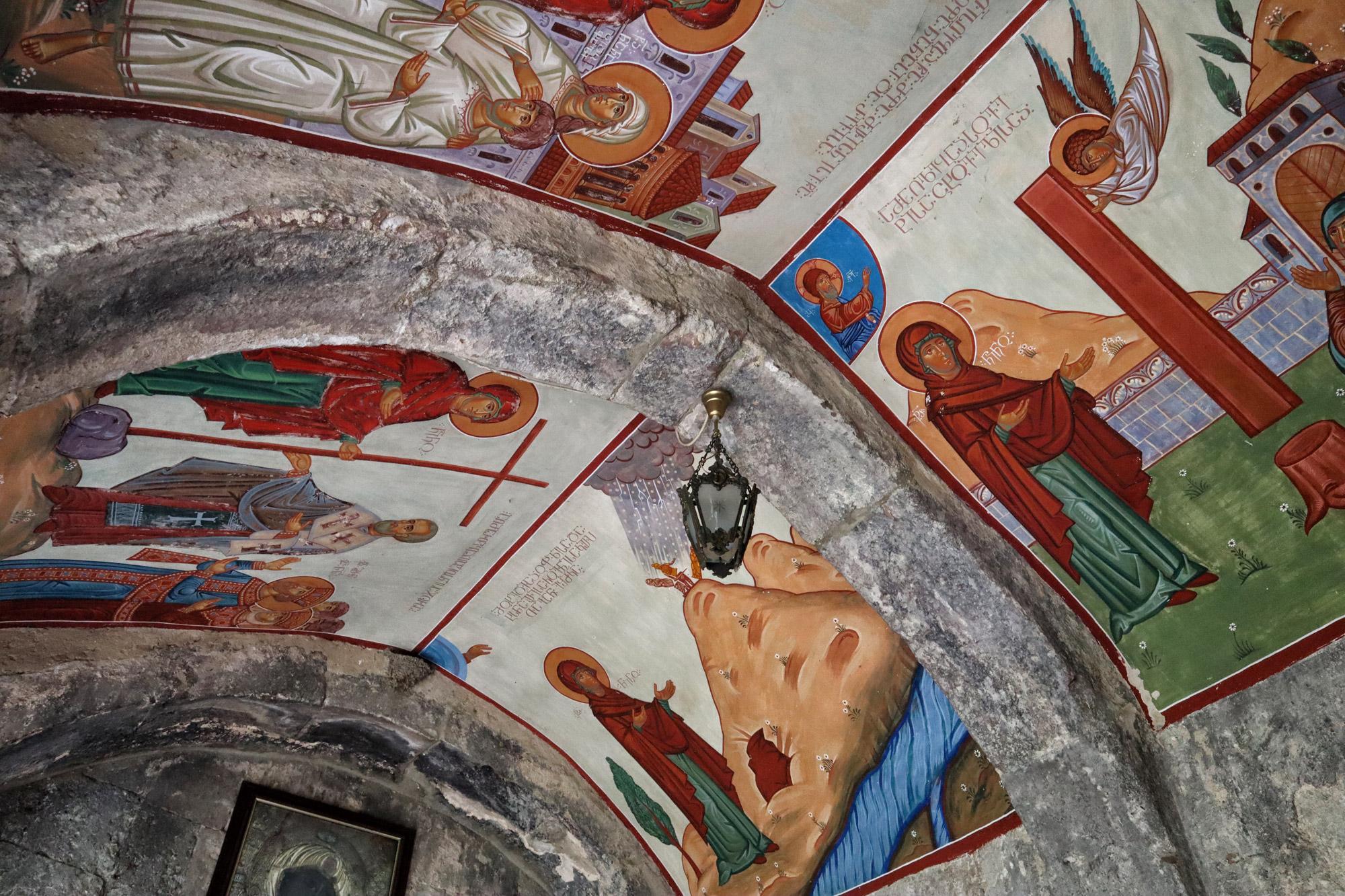 Georgie Reisverslag - Saint Stephen Pirvelmotsame Mothers Monastery in Mtscheta