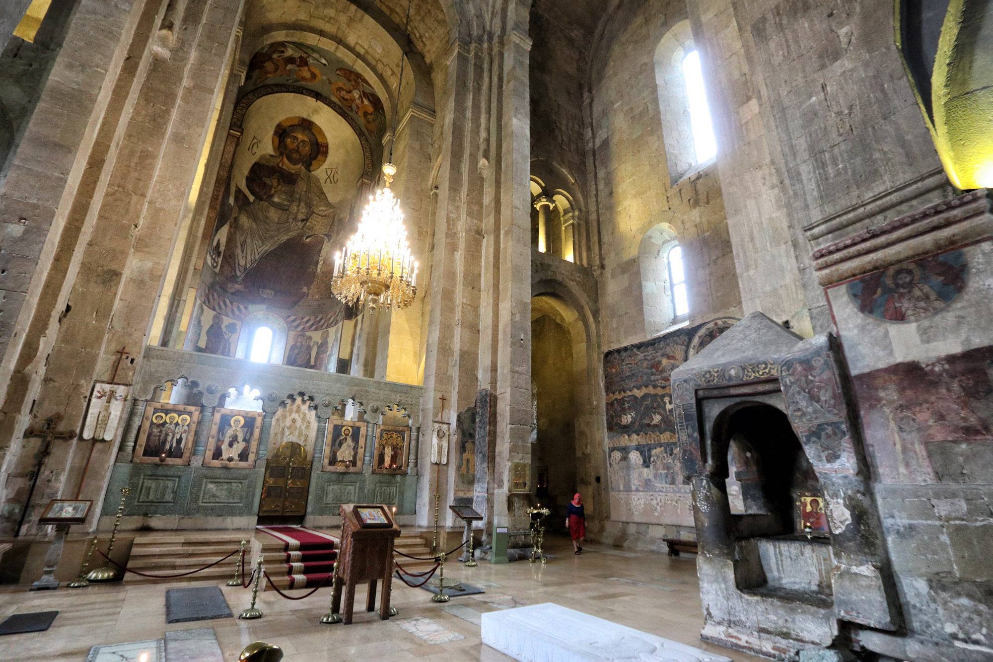 Georgie Reisverslag - Svetitschoveli-kathedraal in Mtscheta