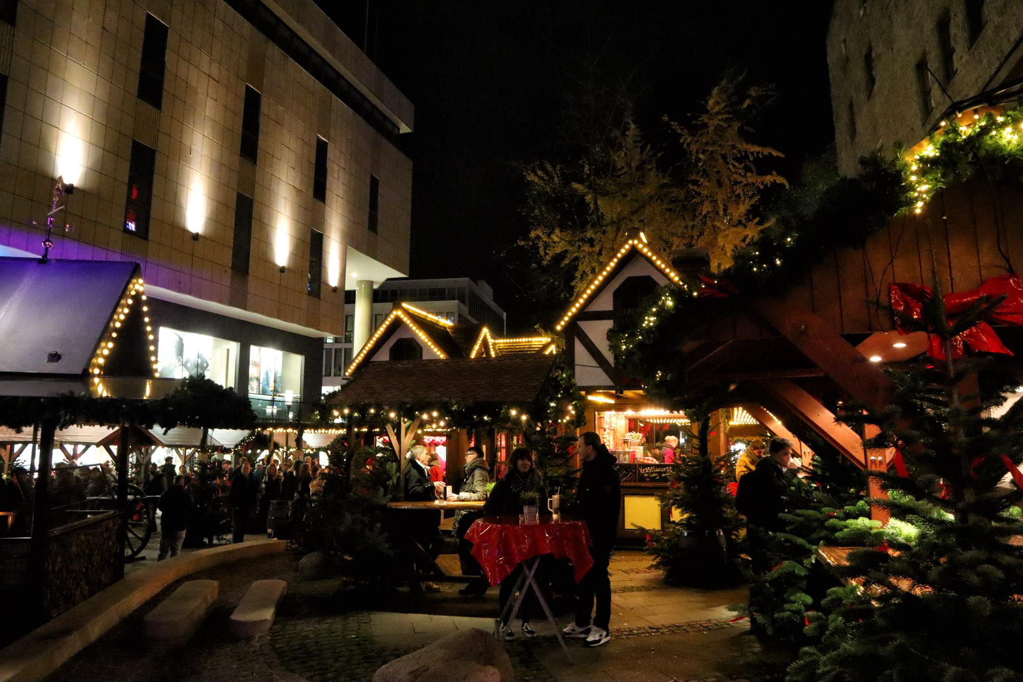 Kerstmarkt van Essen