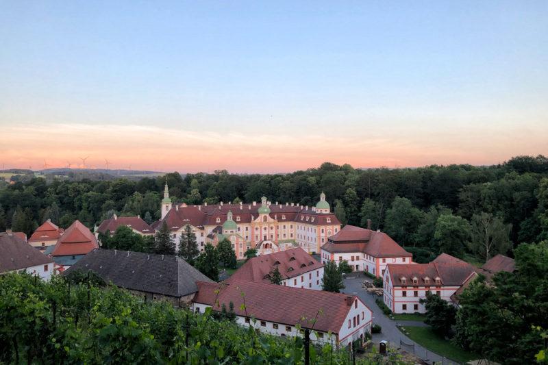 Kloster St. Marienthal, overnachten in een klooster