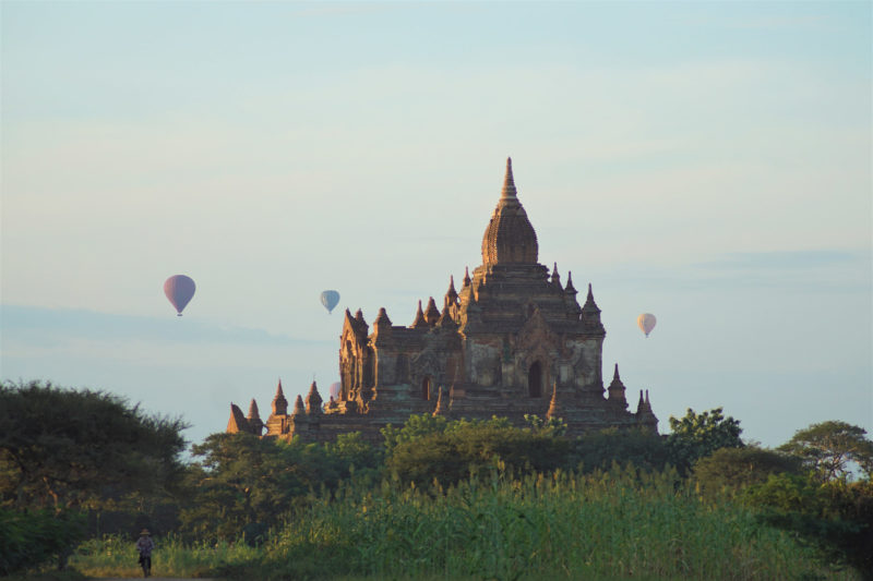 Michelle - Tempel in Bagan