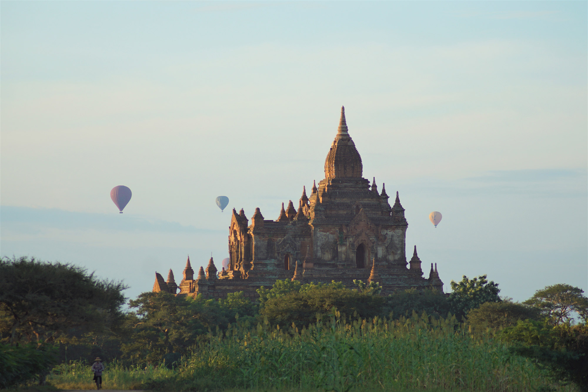 Michelle - Tempel in Bagan