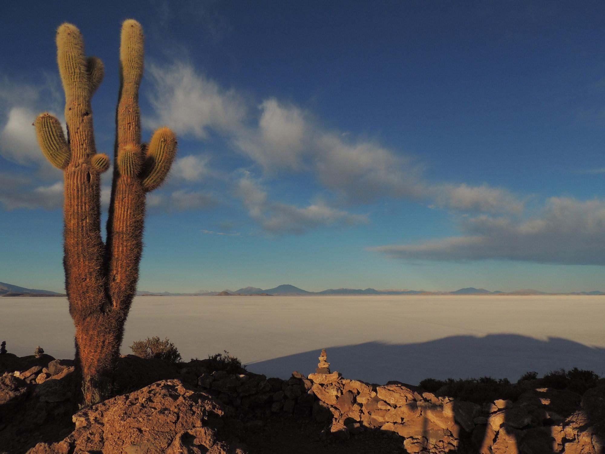 Michelle - Zoutvlakte in Bolivia