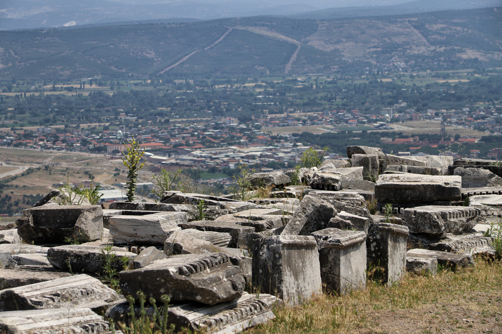 De antieke stad Pergamon - Turkije