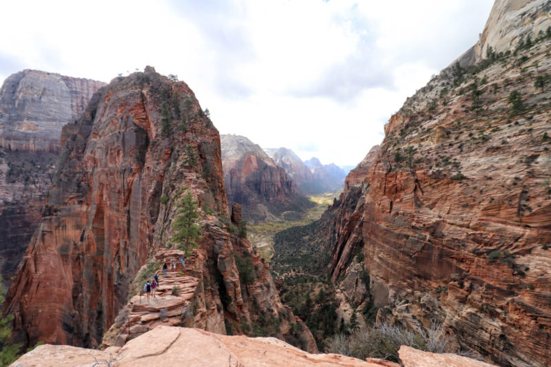 Wandeling: Angels Landing - Zion National Park