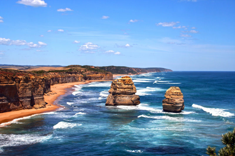 Populaire camperroutes door Australië - Great Ocean Road