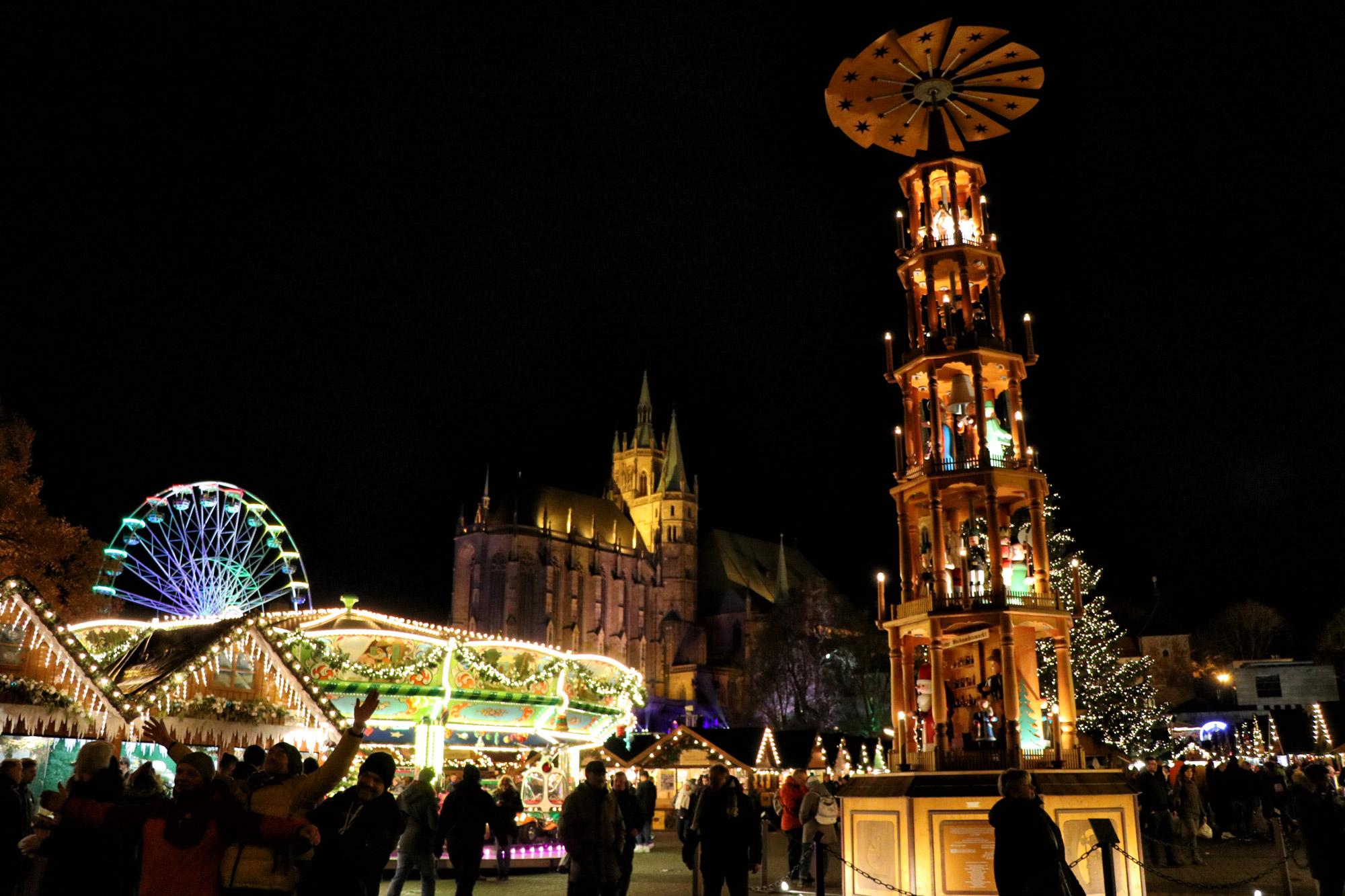 Kerstmarkt van Erfurt