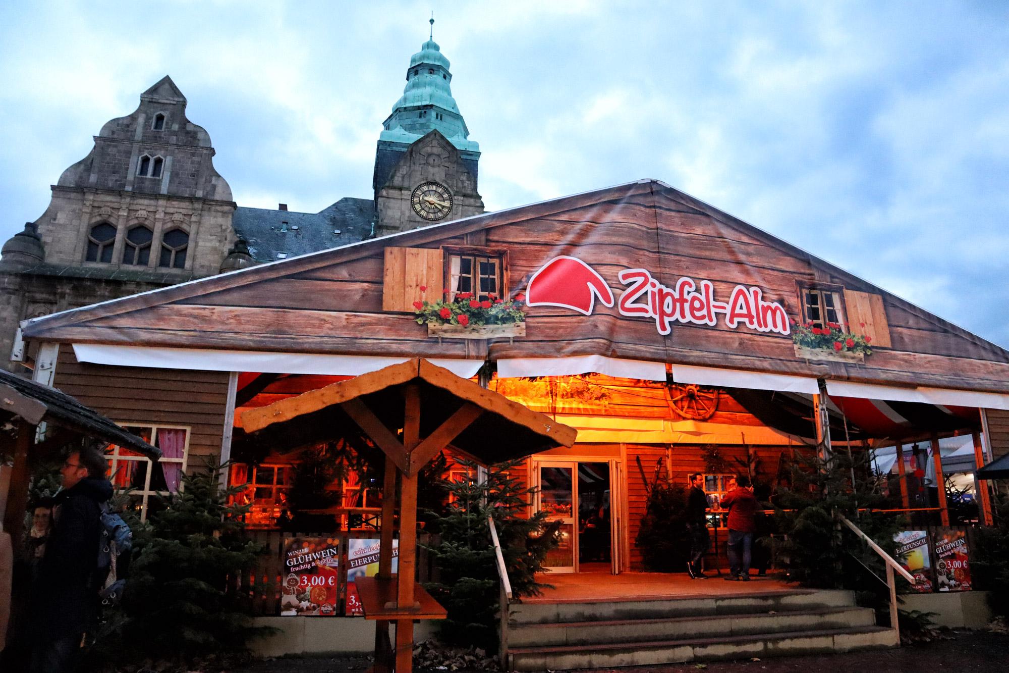 Kerstmarkt van Recklinghausen