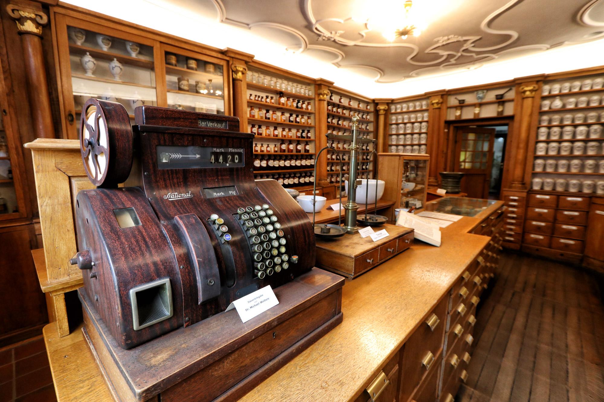 Bad Münstereifel - Schwanen Apotheken Museum