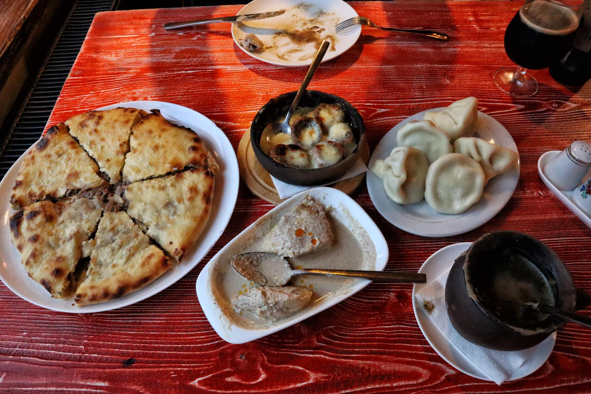 Kosten Georgië - Eten en drinken in Georgië