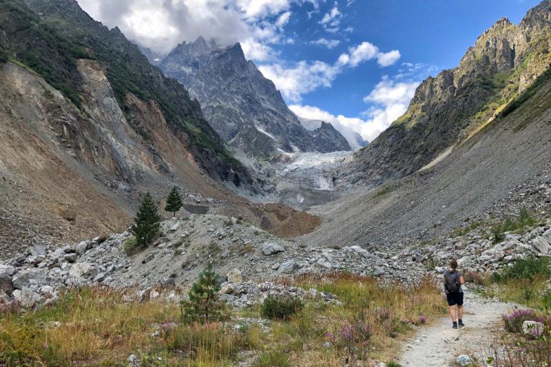 Wandeling in Georgië - Hike naar de Chalaadi Gletsjer