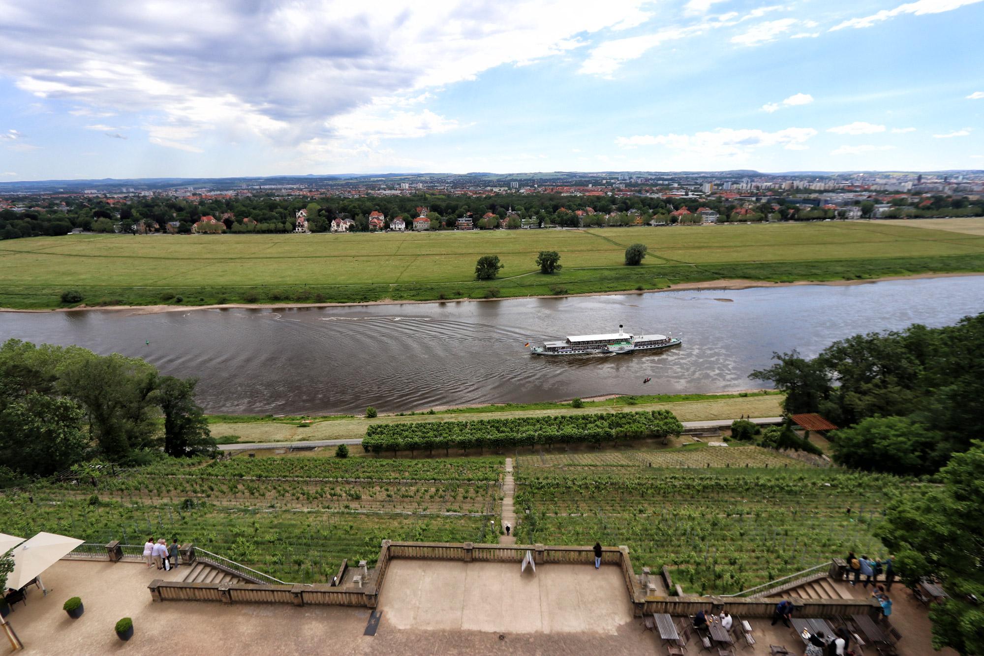 Dresden tips - Sächsische Dampfschiffahrt