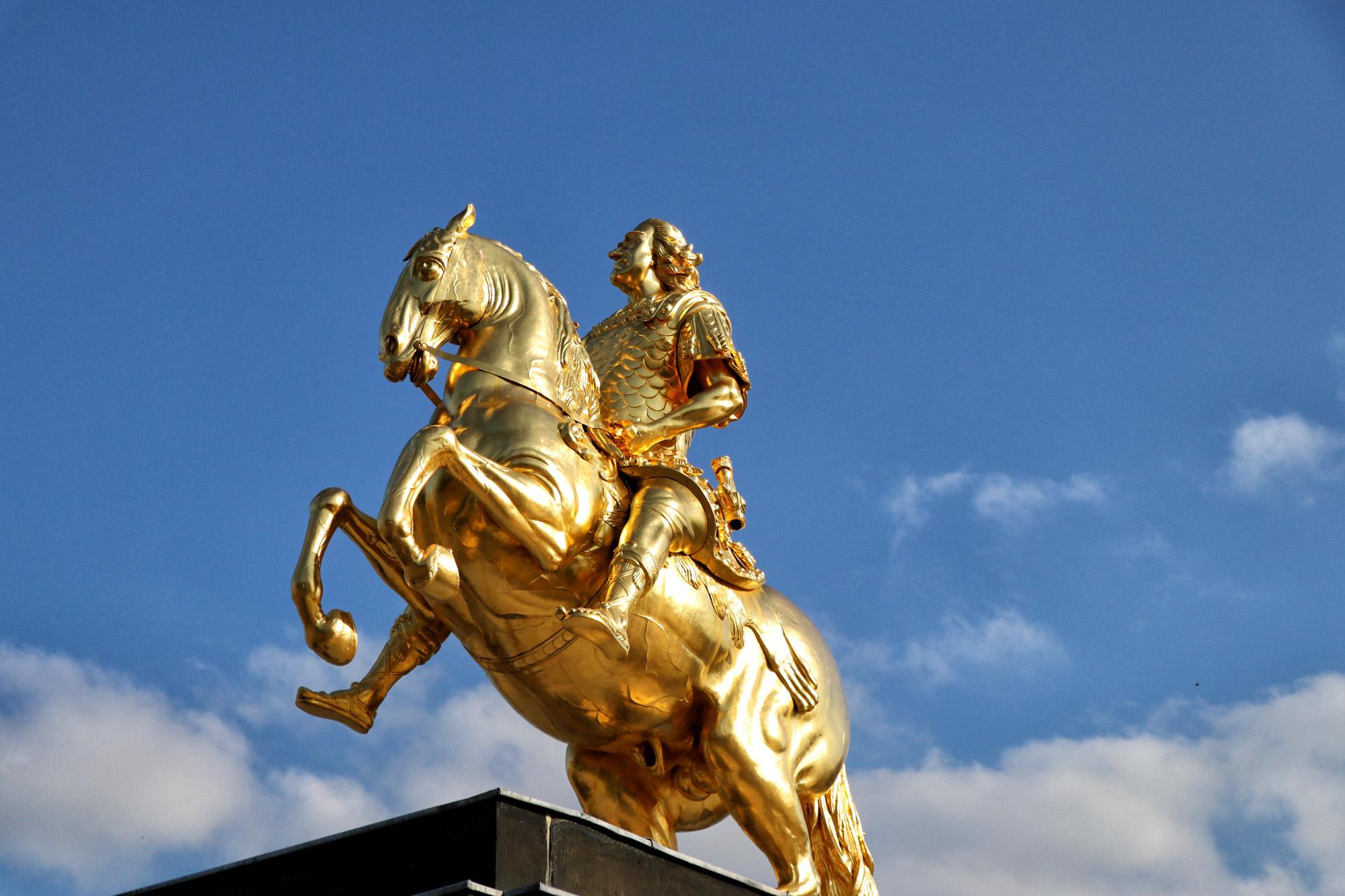 Dresden tips - Goldener Reiter