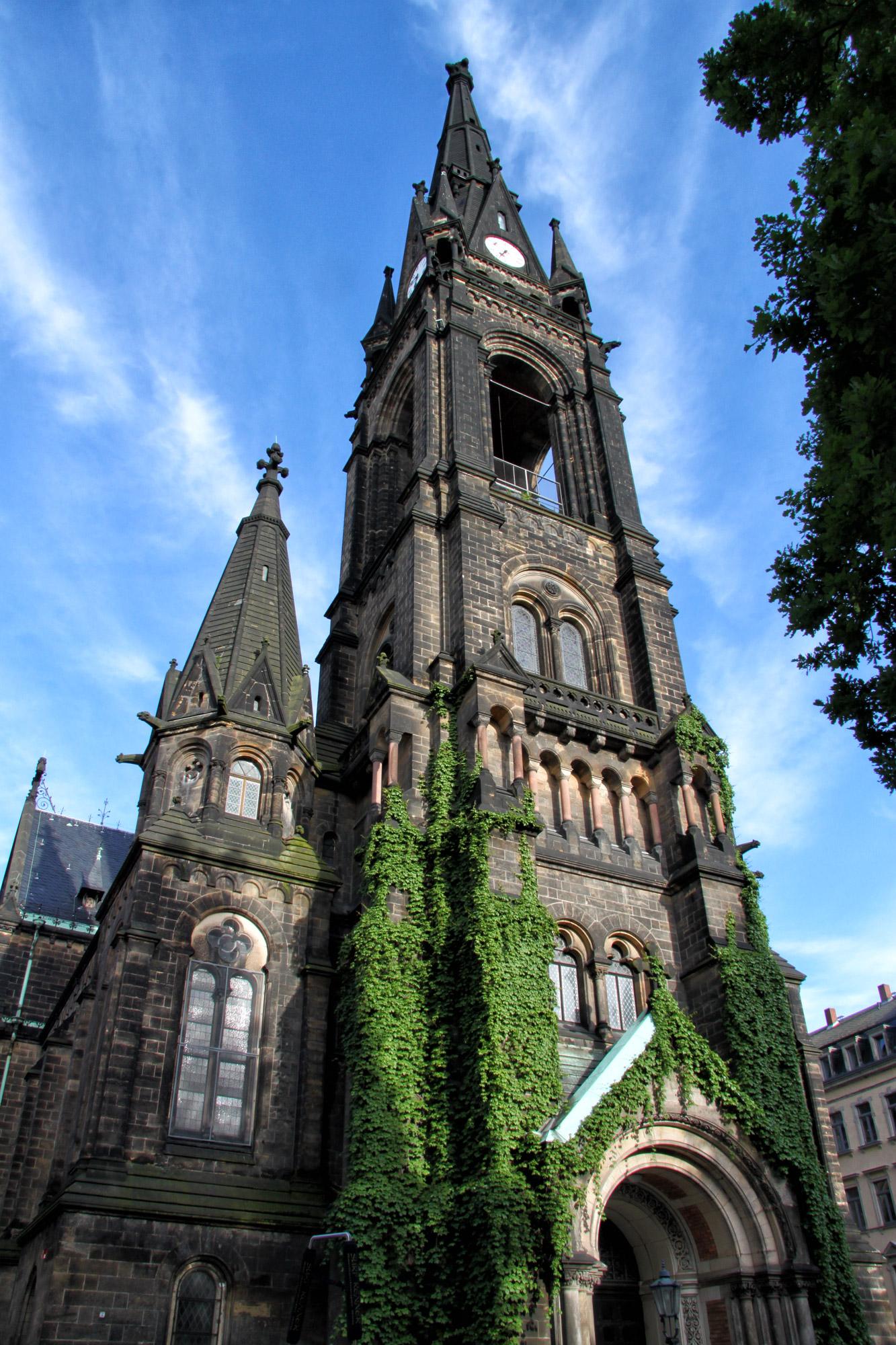 Dresden tips - Martin Luther Kirche